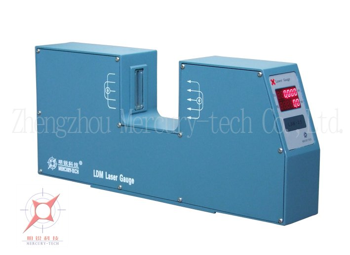Wire Measuring Device : Wire cable pipe laser diameter measurement and control